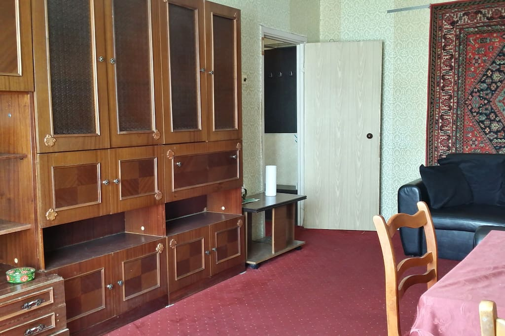 Large wardrobe in the main room