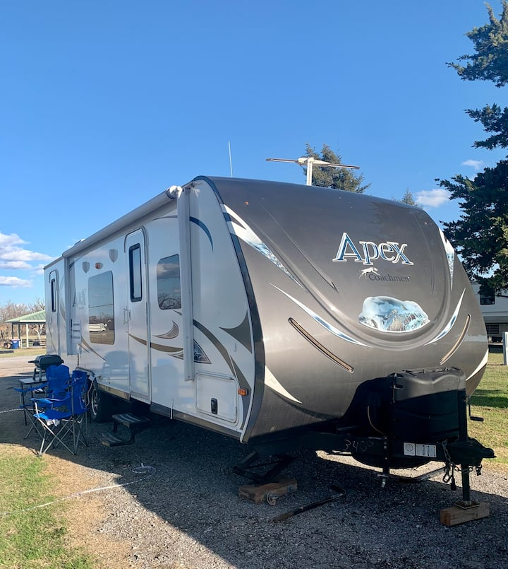 Camper Trailer-You pick the site & we'll set it up