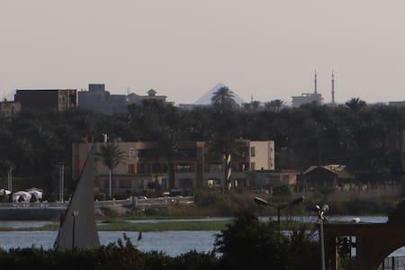 Pvt Room in Maadi with Nile & Pyramids View - Maadi Al Khabiri Ash Sharqeyah - Apartmen