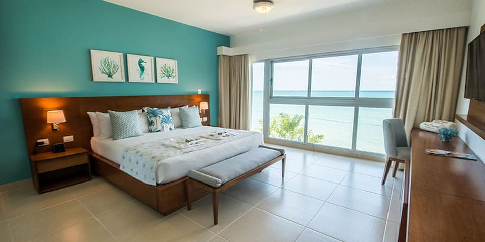 Junior suite at P. S. Cabarete Lifestyle Resort