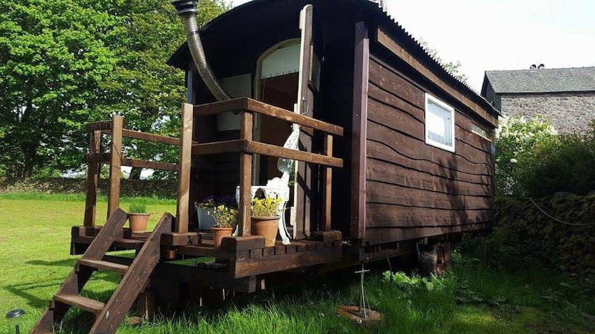 Shepherds Hut in the Lakes 'Swallow'