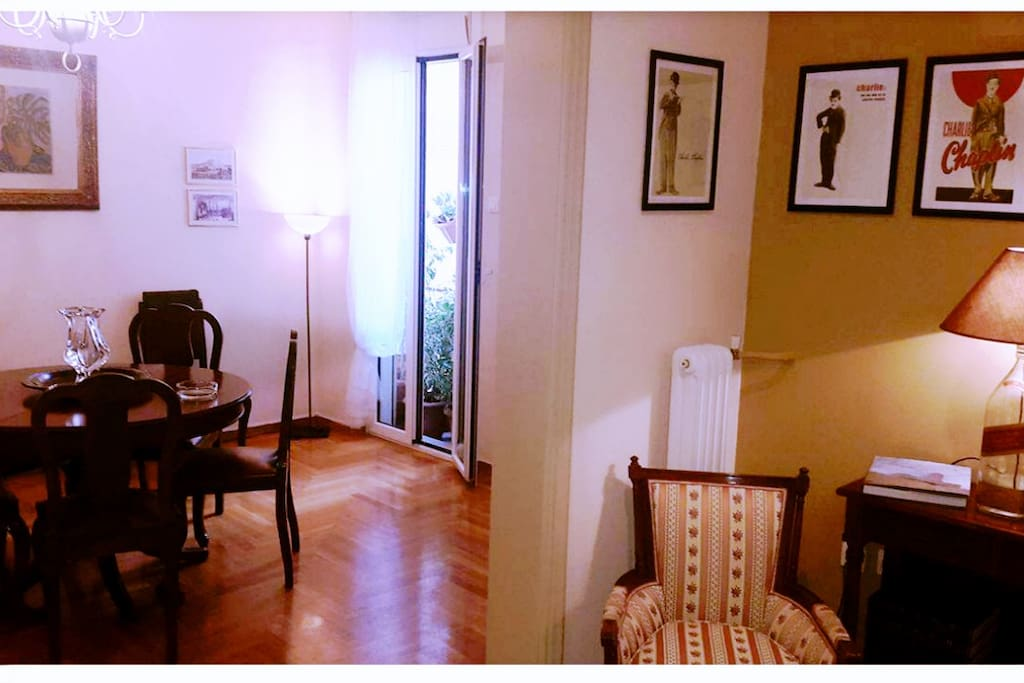 entrance apartment - hall - dining room