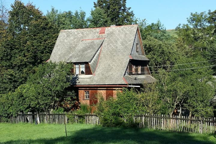 Family House on the Hill - Poręba Wielka