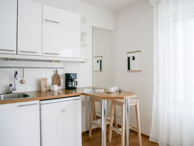 Cozy studio in the heart of city center for two
