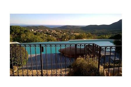 Chambre Verde, Villa Tantani - Monacia-d'Aullène