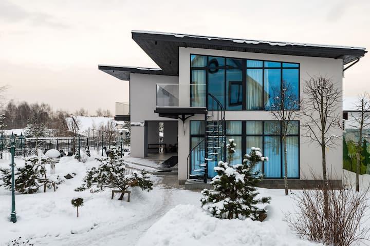 Дом в уникальном проекте IVANOVSTATION Симагино