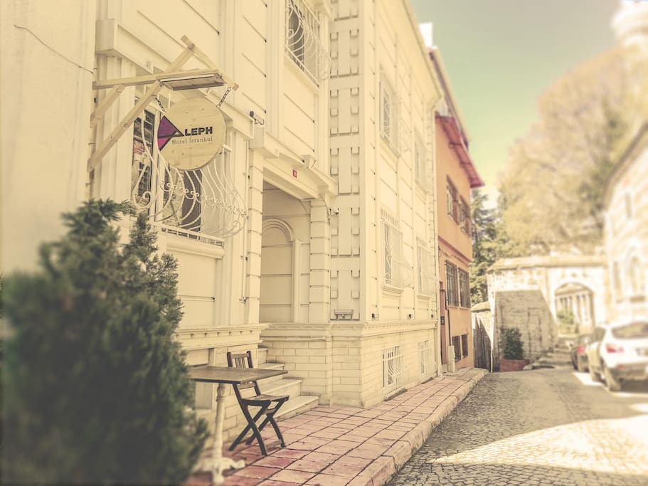 The Exterior View of Aleph Hotel Istanbul