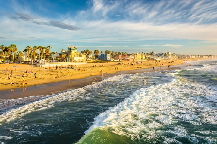 Walk to the Beach, Relaxing Room - Imperial Beach - Appartement