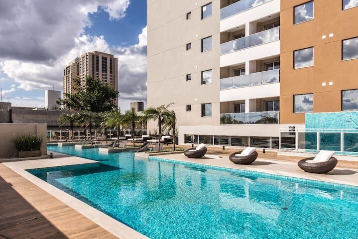 Flat Residencia - completo e charmoso!