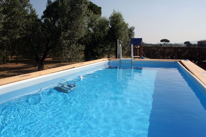Inviting Holiday Home in Bibbona with Barbeque