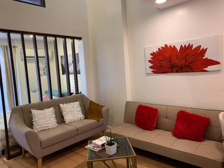 Loft type Condo unit ,cebu , 64 sqm, near CDU/mall