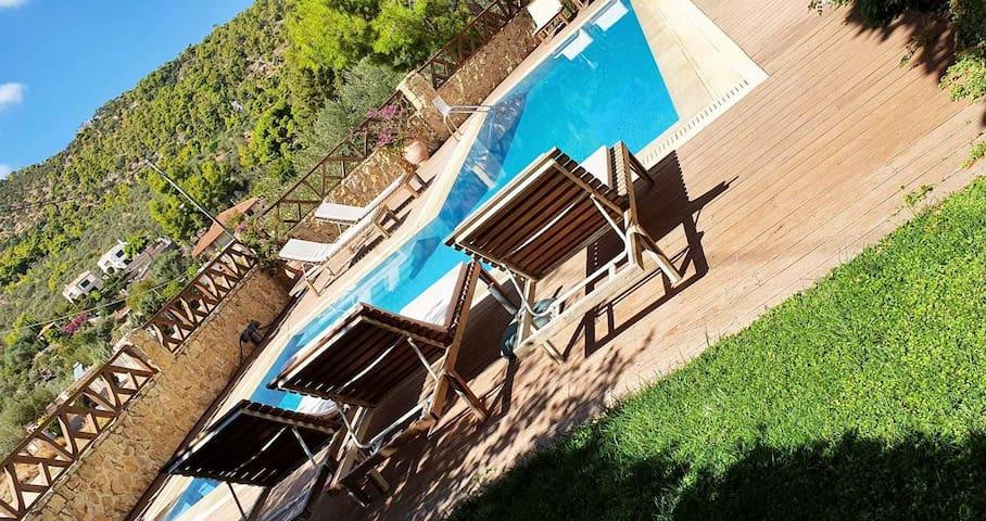 Miramar Complex Korfos - Villa Dallia