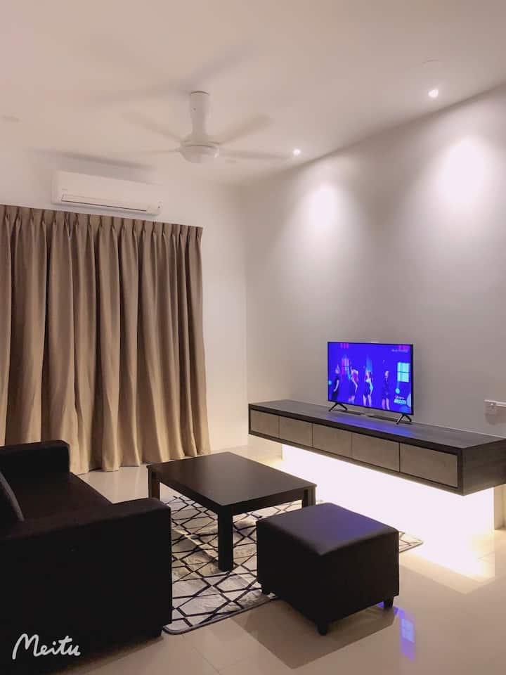 Bukit Mertajam 簡約時尚的独立公寓