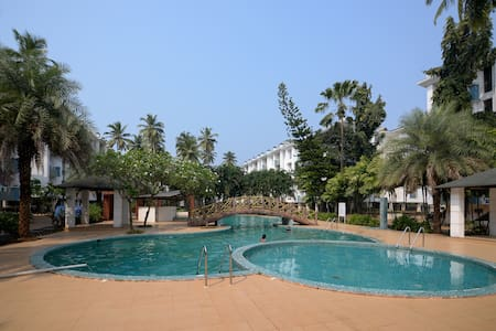 Sunshine Park Homes @ Exclsior 1BHK+pool in Colva - Colva - Byt