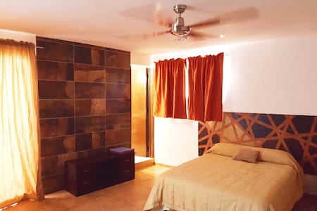 Spacious studio..downtown..near walmart and market - Cancún