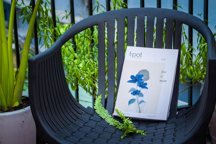 With Sun terrace on the second floor, you can sit to reading book, relax and take a coffee on each morning.