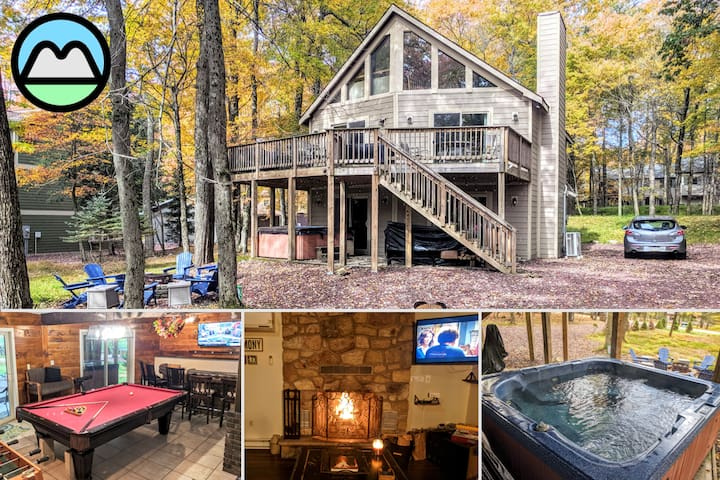 ⭐Lake Harmony Chalet⭐ Family/Friends Getaway⛰️🥾🛶