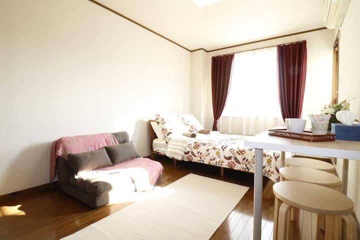 Wonderful access room,5min walk from Kyoto sta!/M3