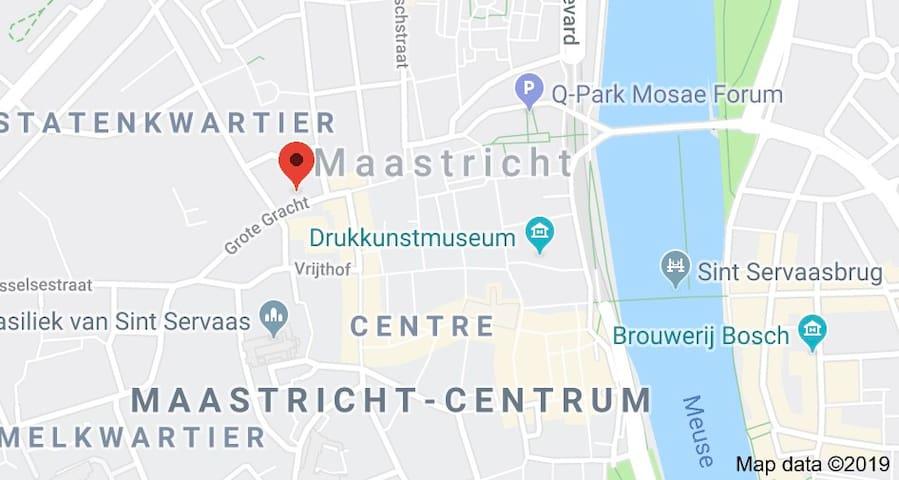 studio hartje centrum Maastricht; condo in center