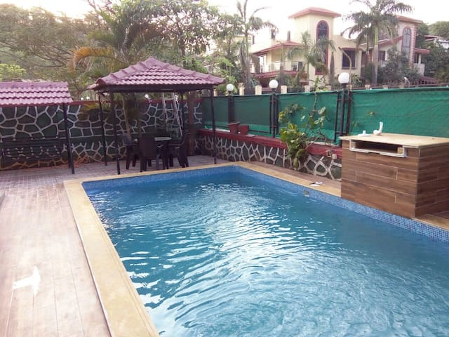 HILL TOP VILLA ( pvt pool) MTDC approved