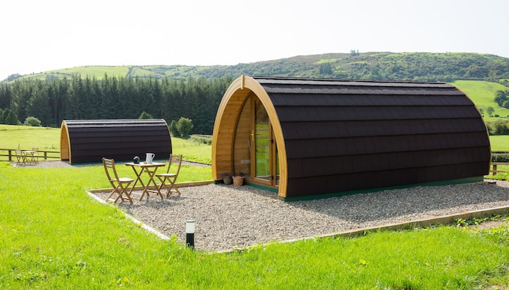 Luxury two-bed Glamping Pod in County Clare