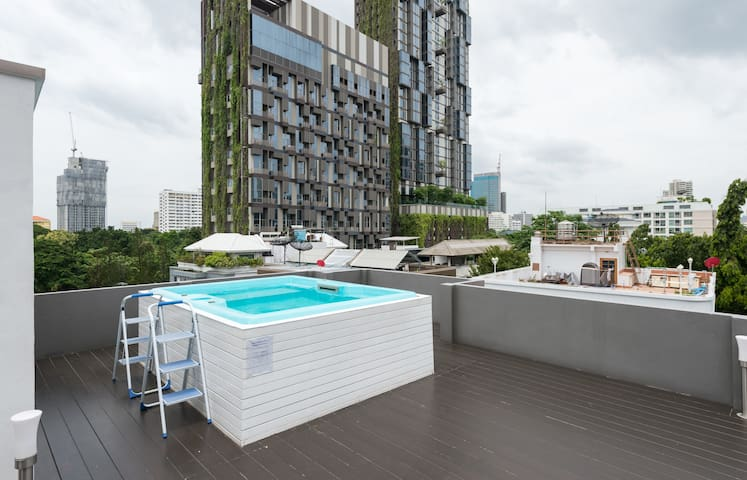 Bangkok Apartments BTS Thong Lo by walk 3min 207 - Bangkok - Apartment