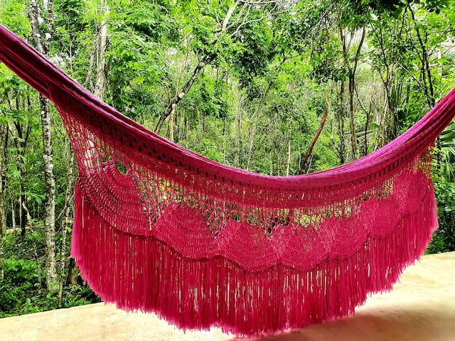 hammock in your private terrace