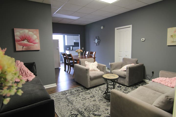 Sleeps 17, downtown, shabby chic - Shakopee - Apartment