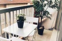 Balcon 4,20 m2