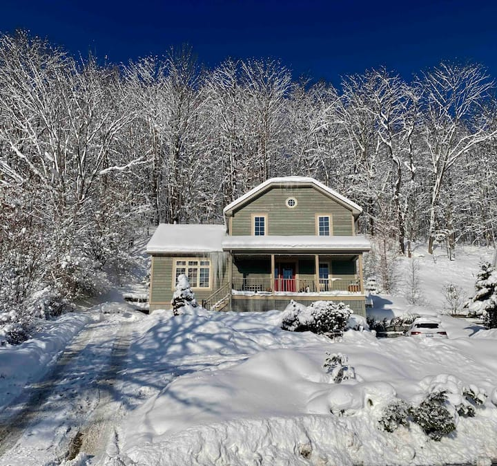 Cozy apartment - steps to town of Ellicottville!