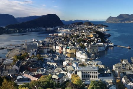 A private studio in lovely Ålesund! - Alesund - Apartamento