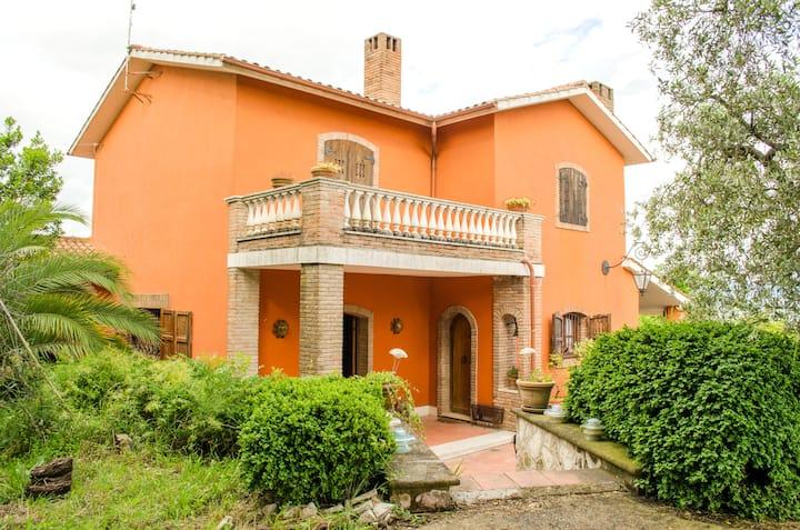 Villa in Sabina a 56 km da Roma