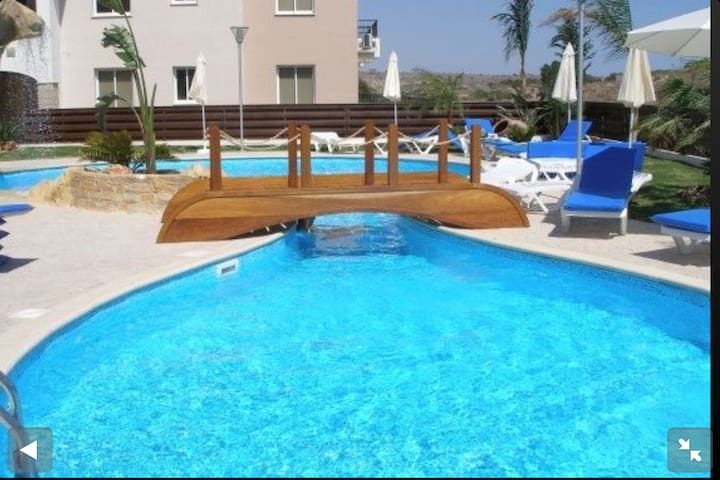 Lovely ground floor apartment with wi-fi - Pyla - Appartement