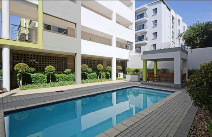 Two bed executive apartment close to Sandton City