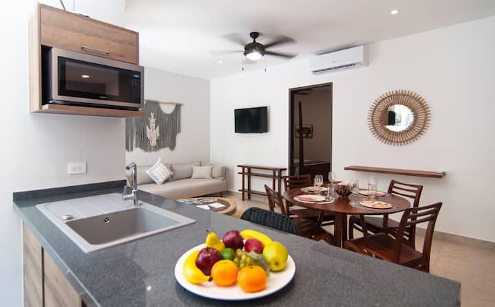 Beautifully Finished Apartment at AKUMAL