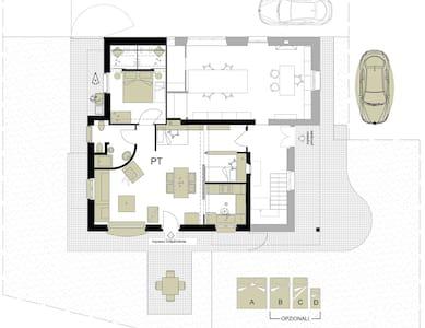 APDF Appartamento con giardino a  3,7 km  dal mare