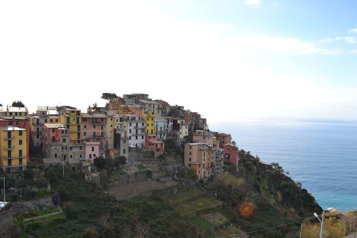 panorama dall'appartamento