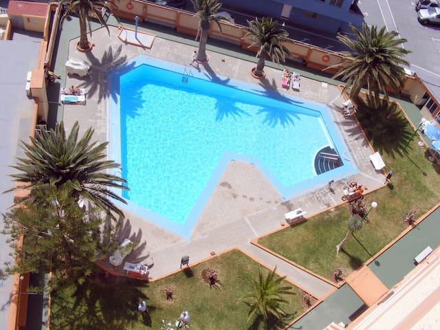 Apartamento en Caletillas, primera linea de Playa - Las Caletillas - Apartamento