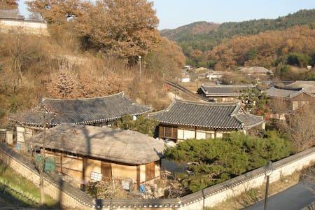 *사랑채 독채* 세계문화유산 양동마을 해저고택전통한옥마을 Traditional house