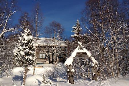 Cosy wooden cabin near Geiranger - Stranda - Zomerhuis/Cottage