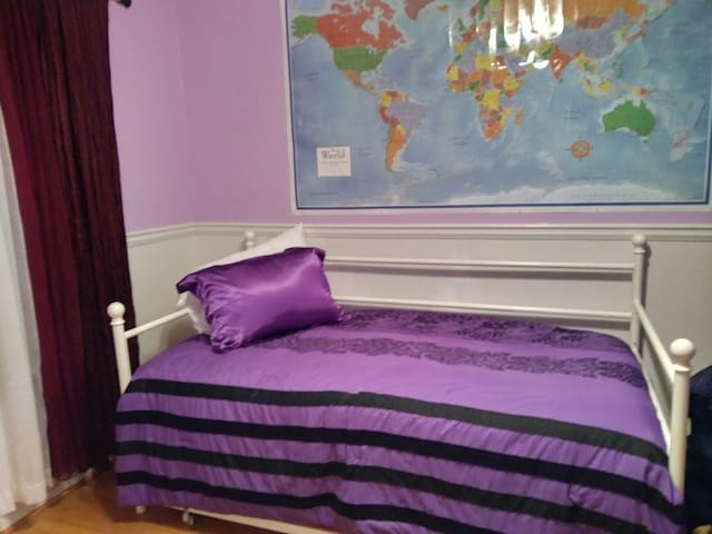 Purple room in marietta