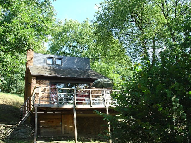 Great chalet with sunny terrace - Hastiere - Faház