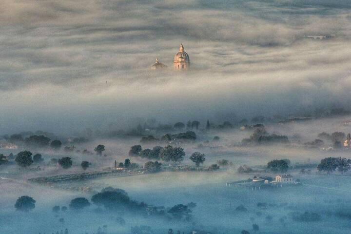 #Assisi romantic winter suite