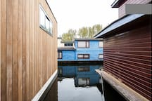 Nova Houseboat. Living on the water.