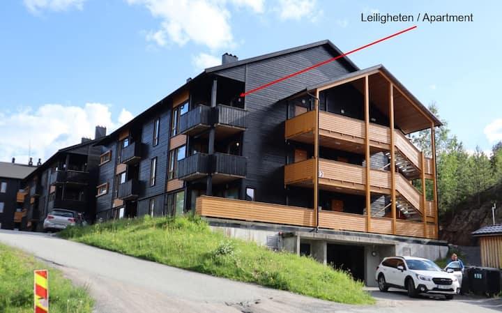 Toppleilighet for store og små i Kongsberg