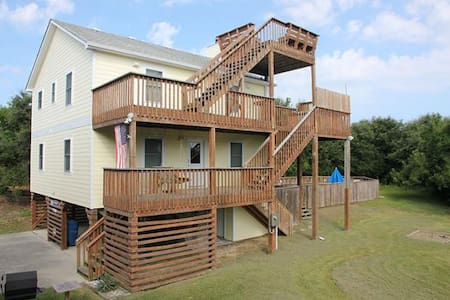 OBXLanai - 5 houses from beach/Pool - Duck - 一軒家