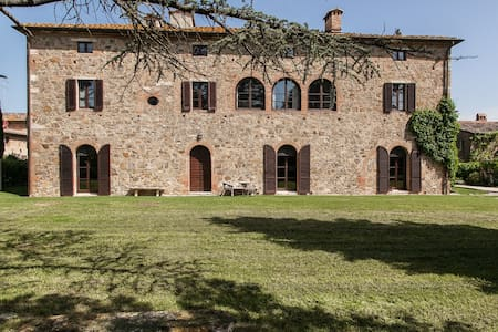 CHARMING COUNTRY HOUSE - Montalcino - Montalcino - Villa