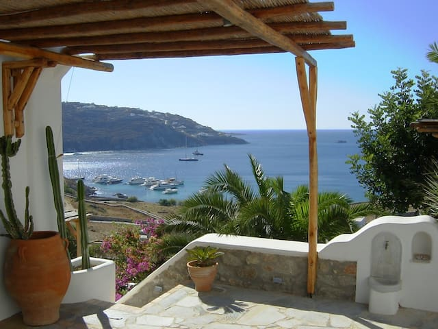 Athena, distinctive style and stunning sea view. - Mikonos - Villa