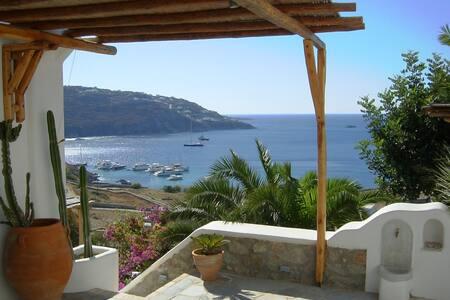 Athena, distinctive style and stunning sea view. - Mykonos - Villa