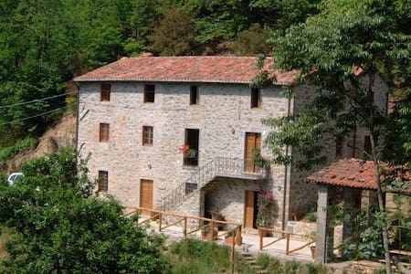 Beautiful Secluded Tuscan Villa - Barga - Villa